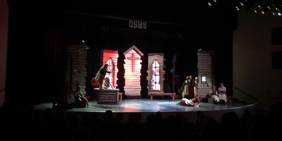 OSHS Theatre Department performs 'Brother Wolf' ahead of Drama Fest competition