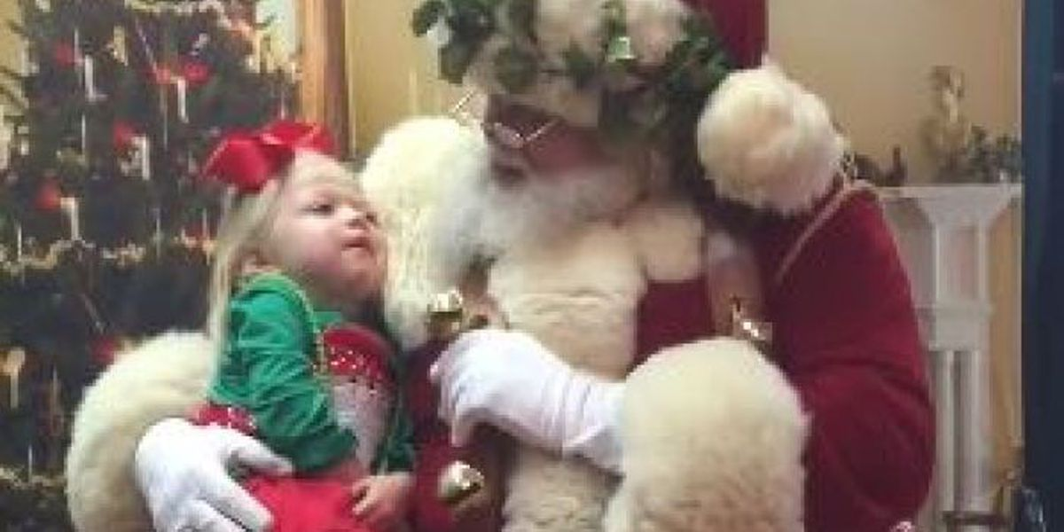 WATCH: Santa singing to sick MS girl will melt your heart