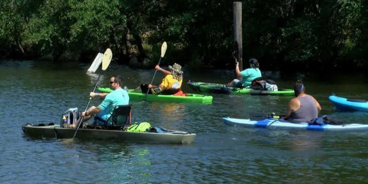 Paddlers help raise funds for animal shelter in Pascagoula