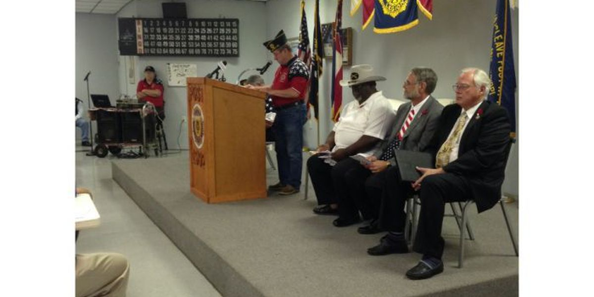 Gautier honors the city's fallen soldiers