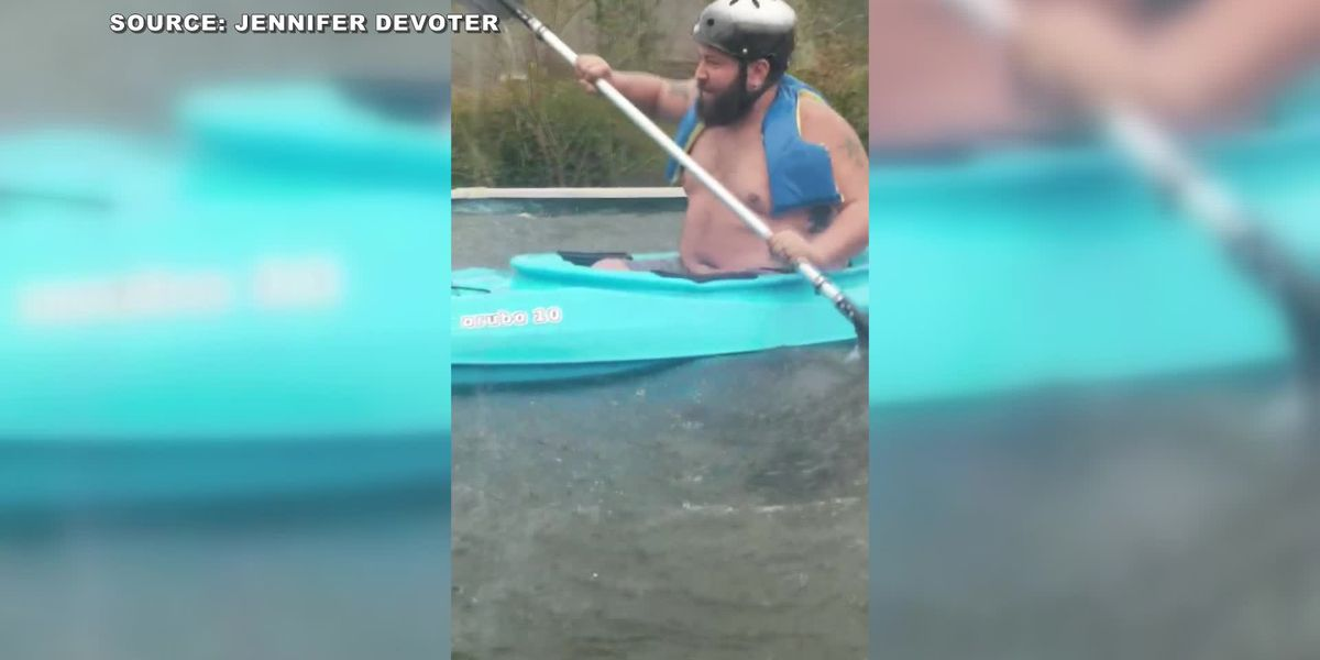 Mississippi man determined to 'check on neighbors' in flood waters