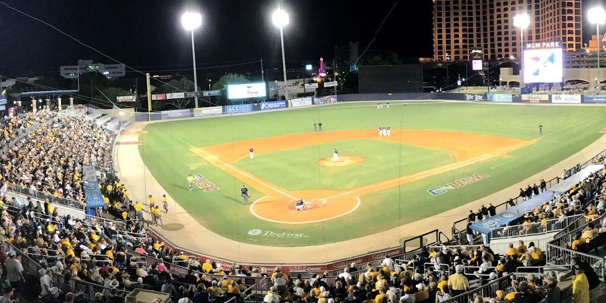Conference USA Baseball Tournament returning to MGM Park in 2019