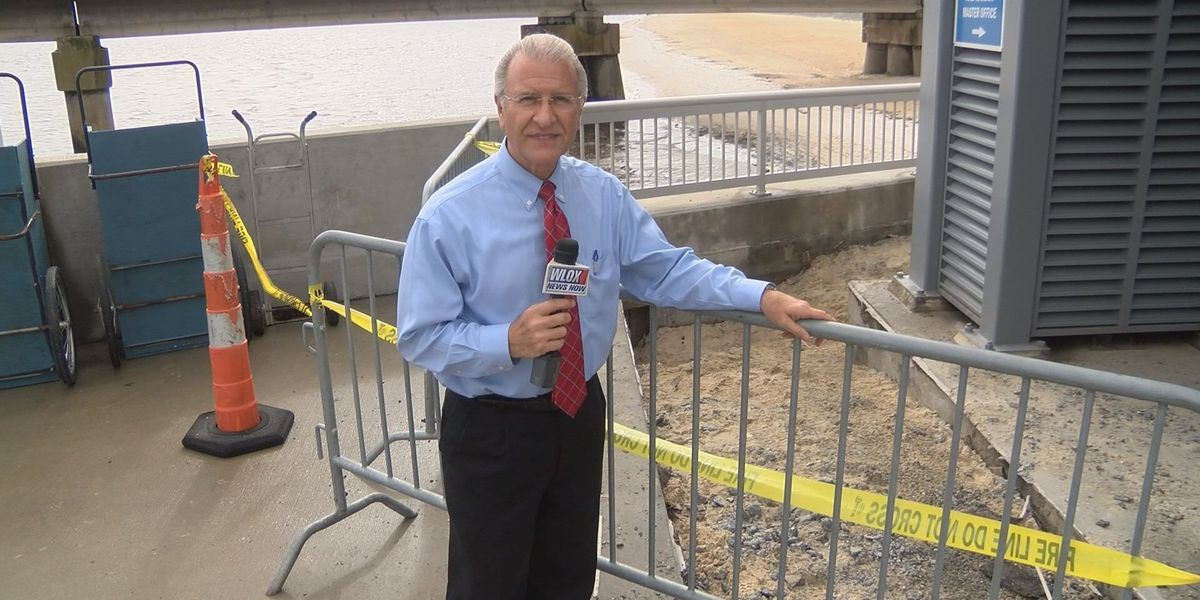 Action Report: Cement sidewalks have been sinking at the Bay St. Louis Harbor