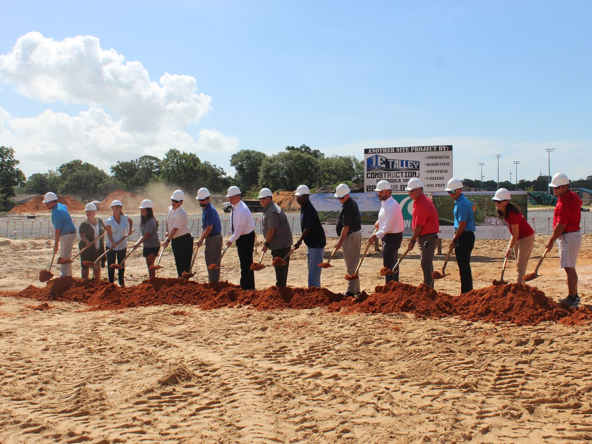 Pascagoula officials hold groundbreaking for latest ballfield