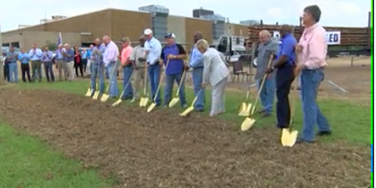 Groundbreaking held for new timber fuel processing plant
