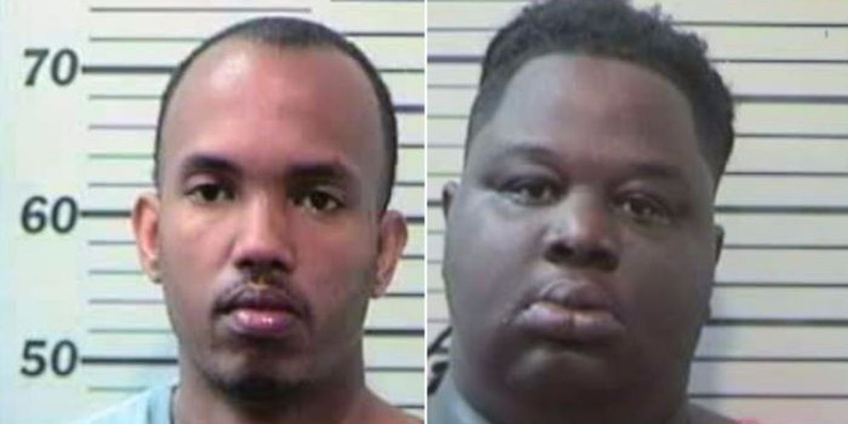Two charged in George Co. burglary, deputies still looking for 'Pooh'