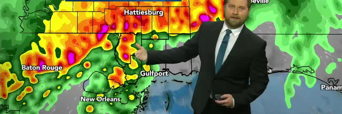 Severe storms Saturday morning
