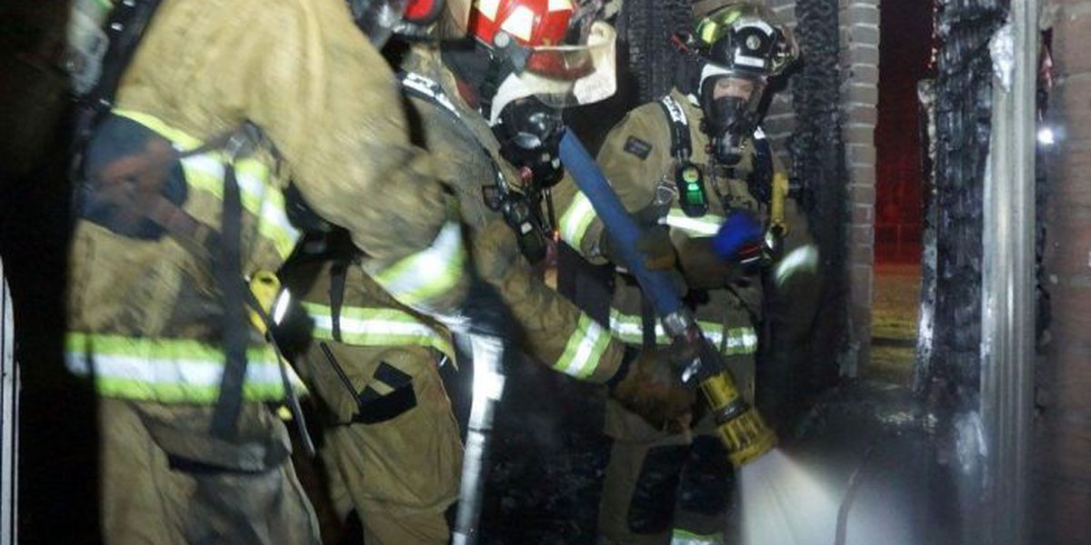 Teen escapes overnight house fire