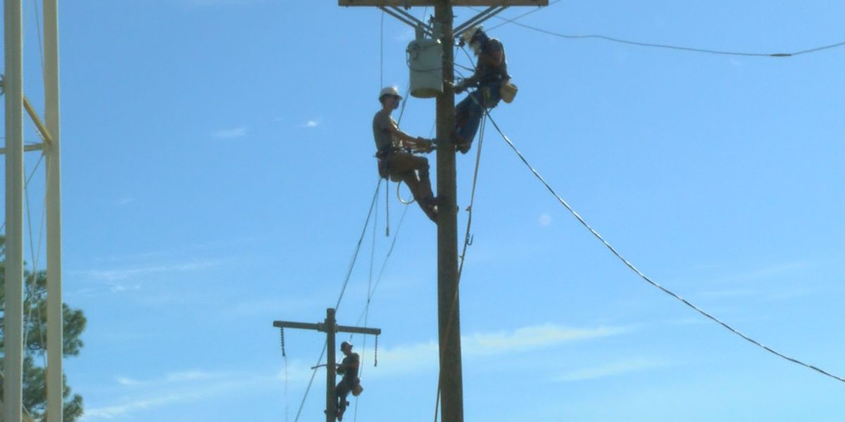 MGCCC lineman program partners with industry to get workers on poles