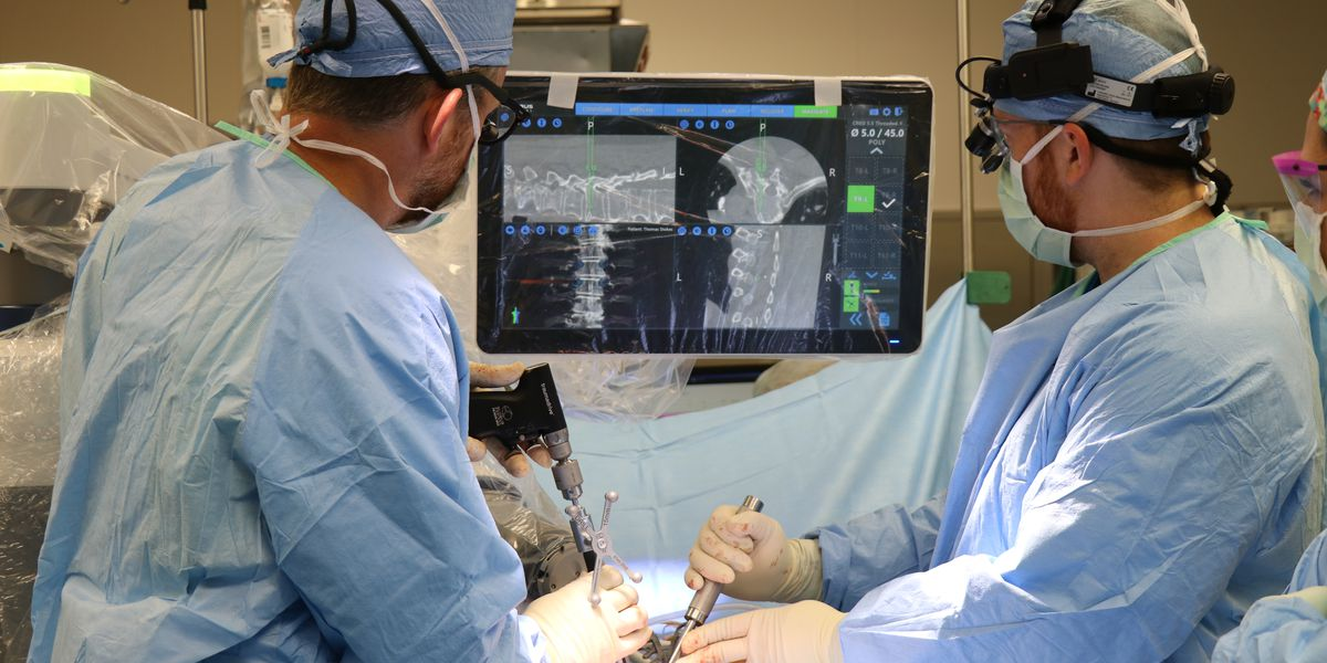 Mississippi's first robotic navigation spine surgery performed