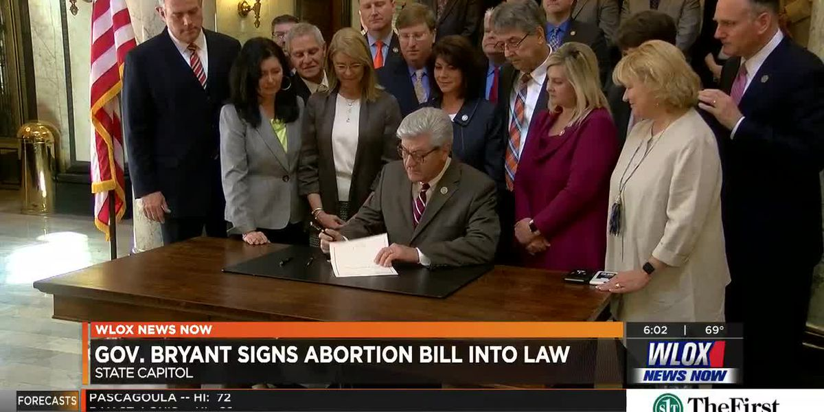 Mississippians react to new fetal heartbeat law