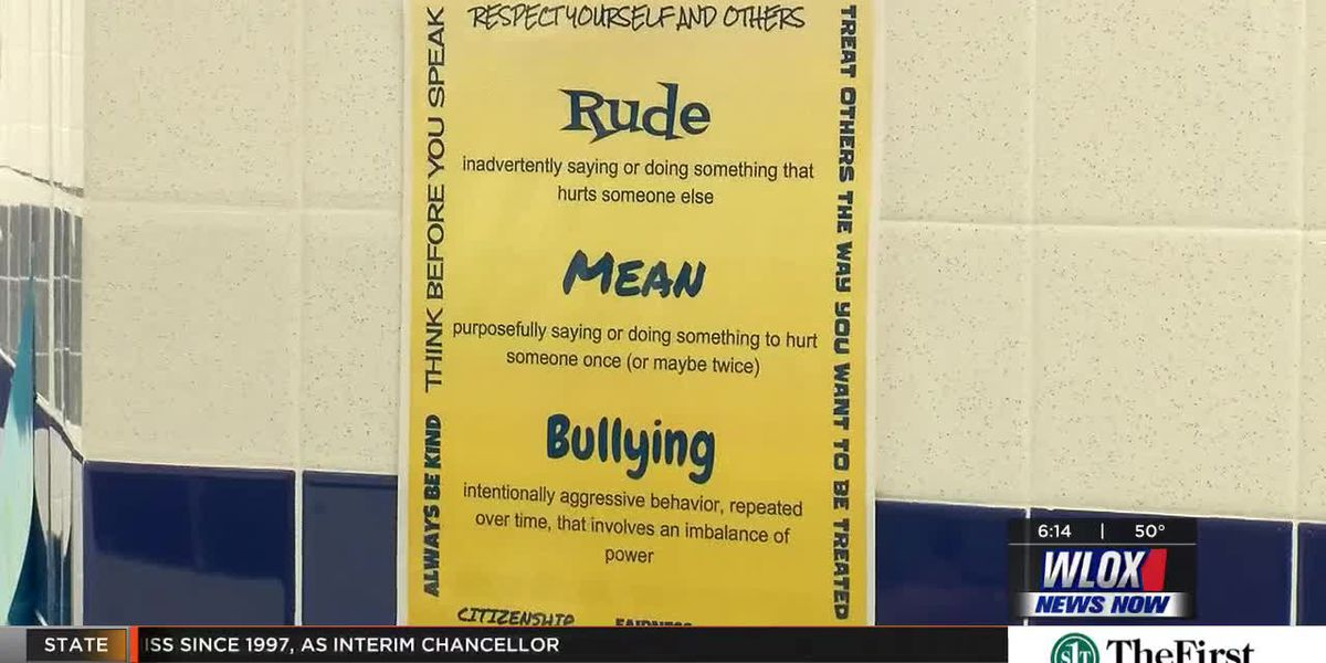 Students and mentor create a powerful anti-bullying message