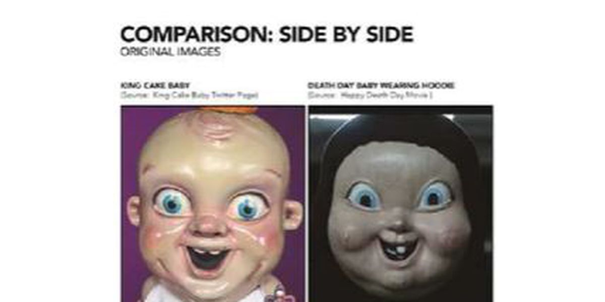 Report: Lawsuit claims movie violated copyright law by using King Cake Baby's likeness