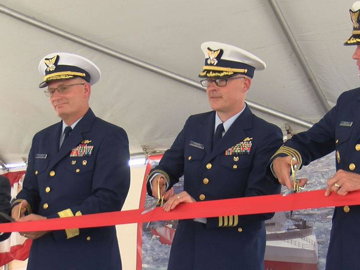 Coast Guard opens Polar Security Cutter office at VT Halter Marine