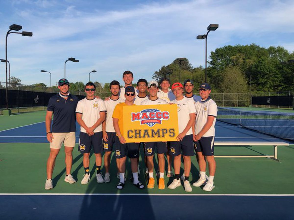 MGCCC men's tennis finishes undefeated in conference play