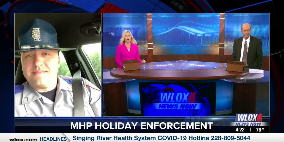 "Trooper Cal Robertson on ""Drive Right, Mississippi"" campaign"