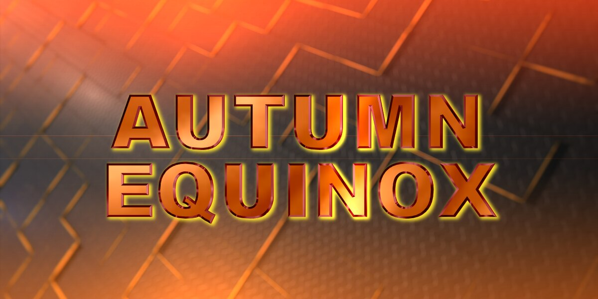 Temperatures begin to fall as autumn begins next week