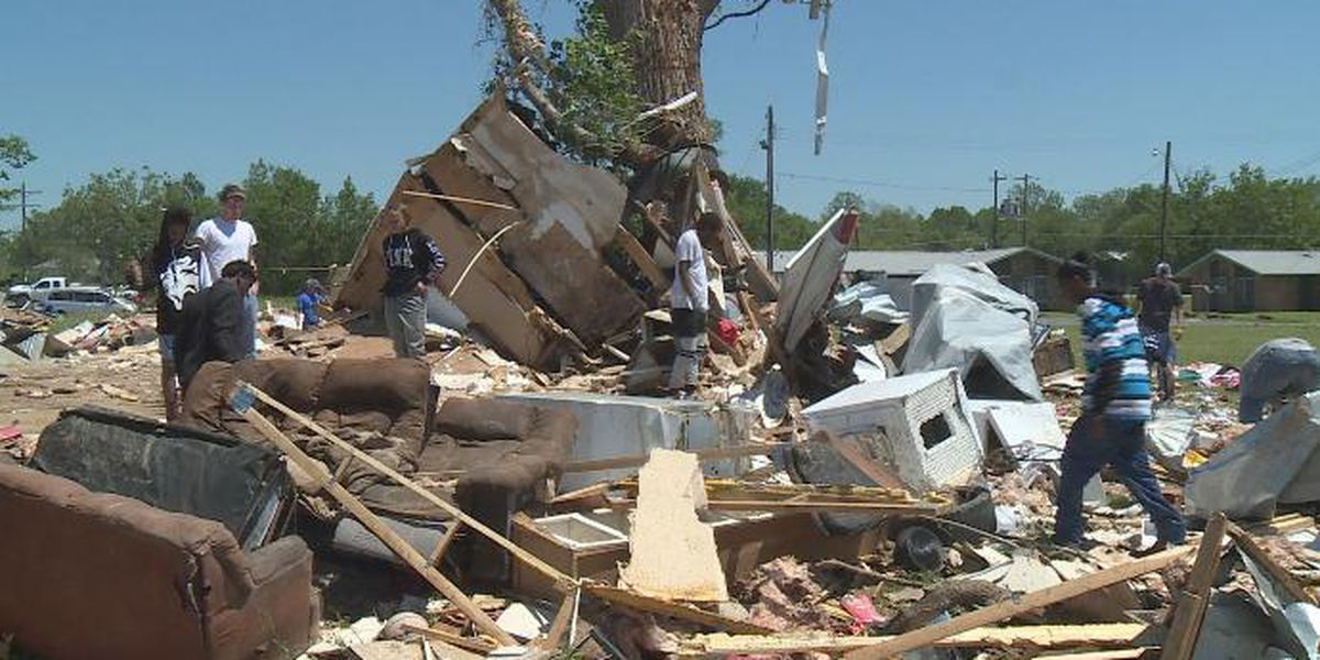 Texas family thrown from home during tornado, survives