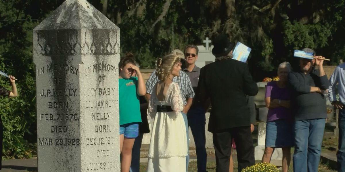 Biloxi cemetery tour portrays past mayors of Biloxi