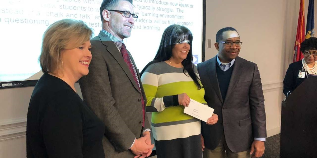 Ingalls hands out thousands in STEM grants