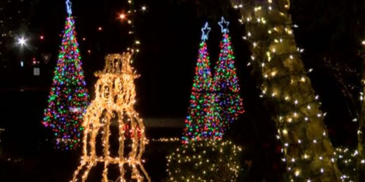 Gulfport family lights up John Ross Road with intricate Christmas display