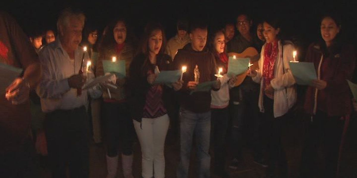 Las Posadas mixes languages and cultures in the spirit of Christmas