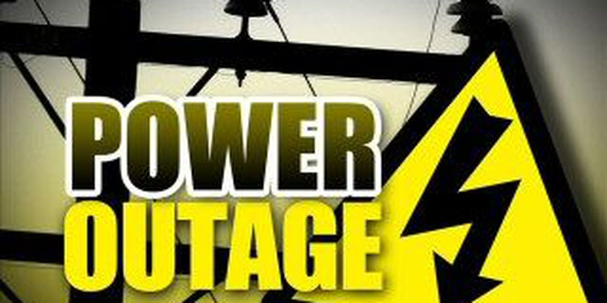 Approximately 4,000 power outages reported across South Mississippi