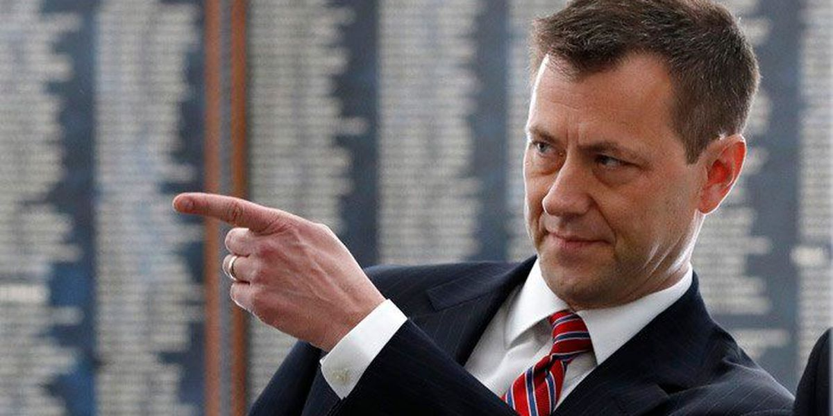 FBI agent Strzok reportedly fired over anti-Trump texts