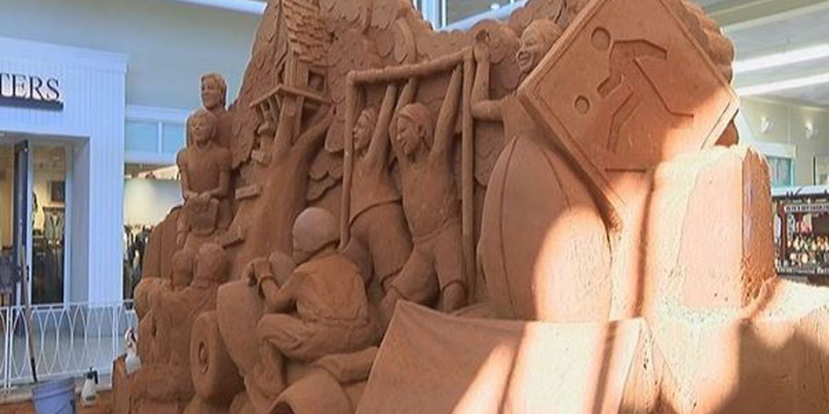 Page 13: Amazing sand sculpture comes to life