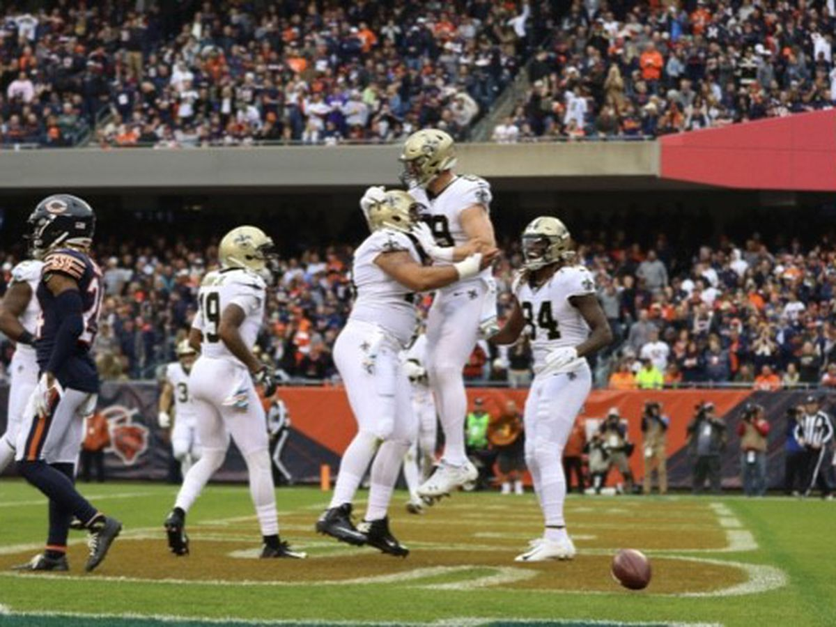 Saints extend win streak to five games with total team effort against the Bears