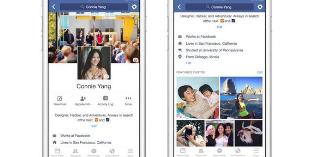 Facebook rolls out upgrades to mobile profiles