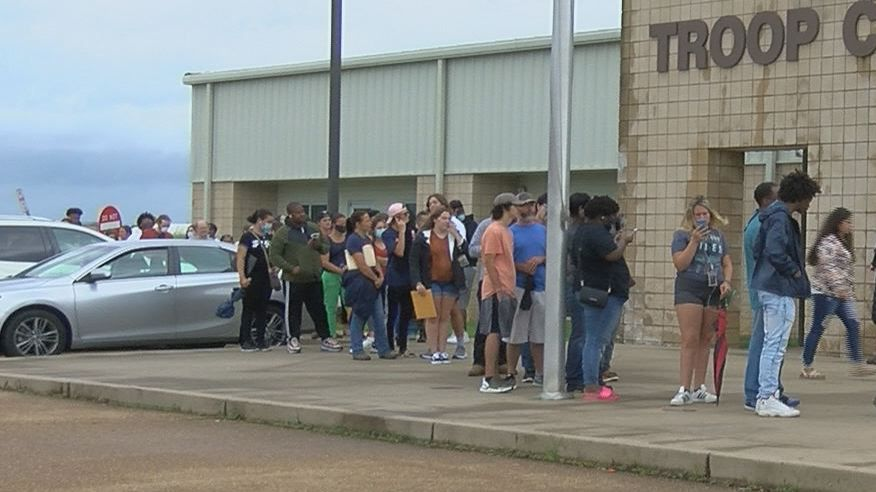 Driver license stations reopen in Miss. with long lines and longer wait times