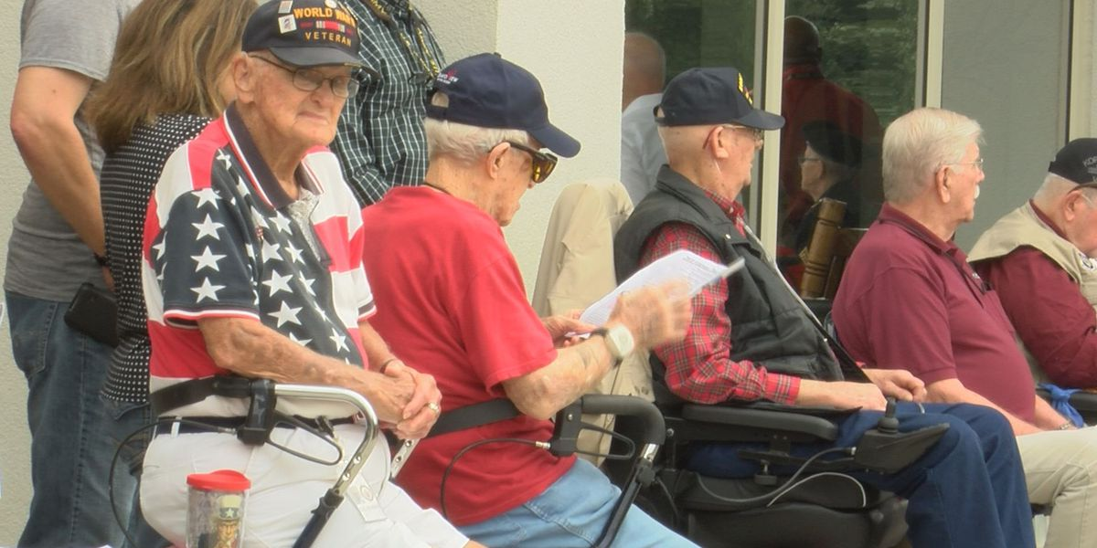 Veterans Day at the Armed Forces Retirement Home is special to the residents