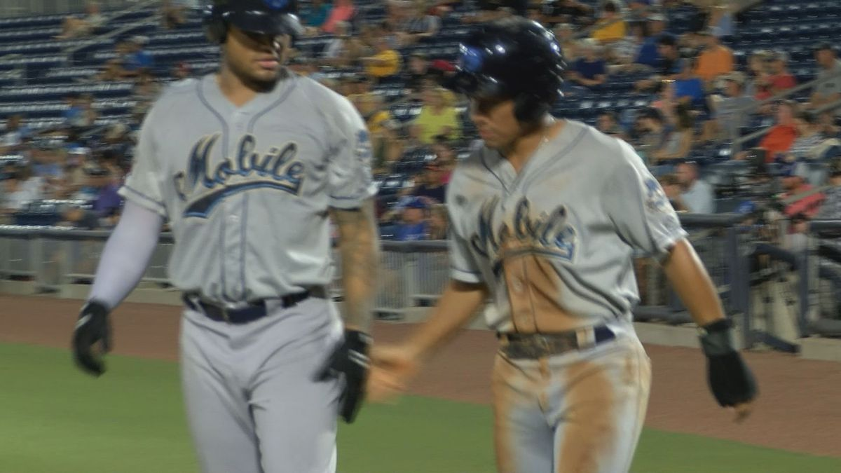 BayBears take final game from Shuckers 4-2