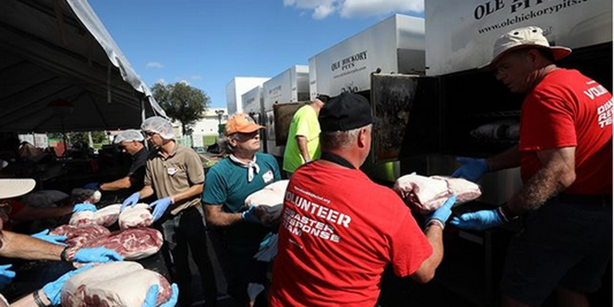 Thousands of hot meals delivered to storm ravaged Bahamas