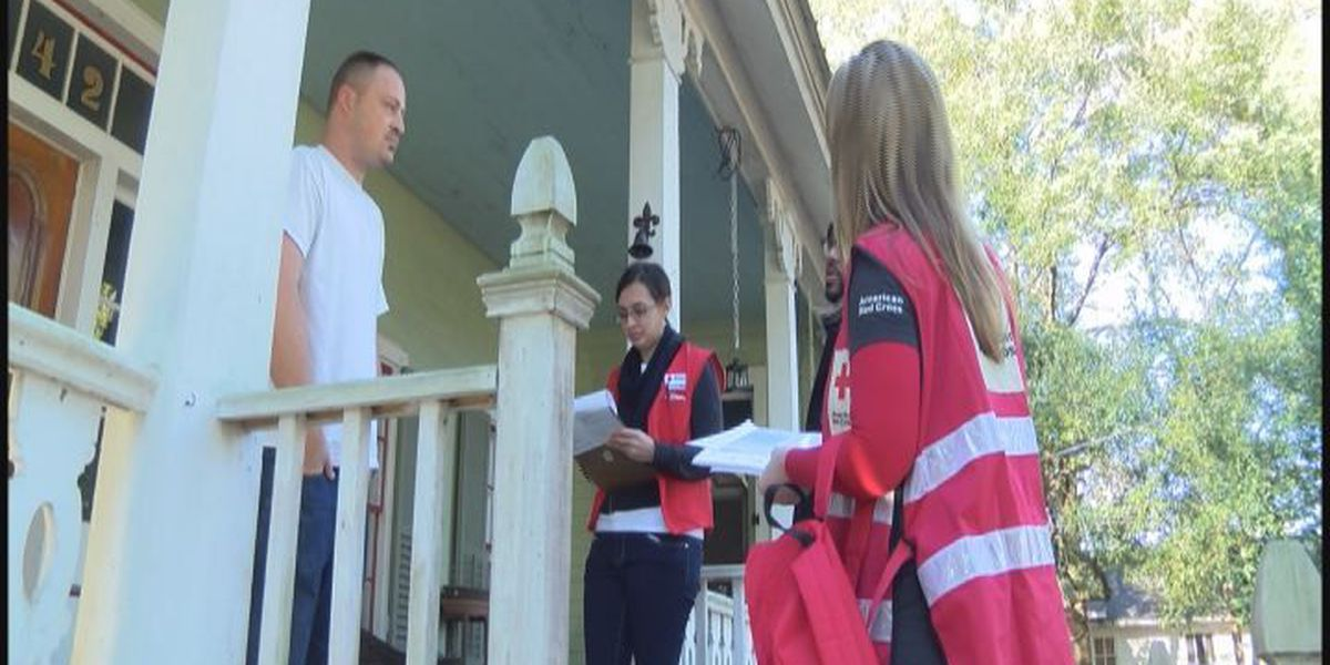 Red Cross uses MLK day to promote fire safety