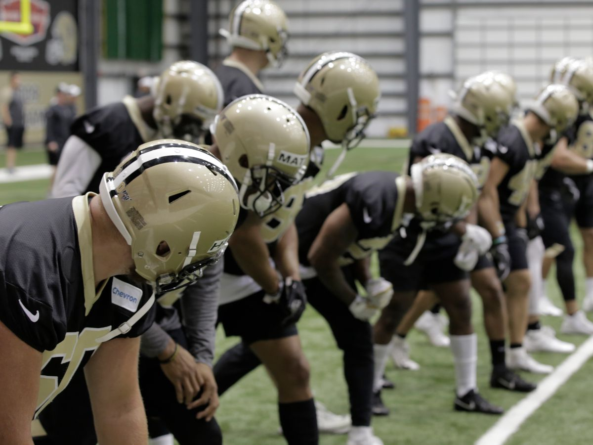 Saints maintain 'championship mentality' through wild offseason