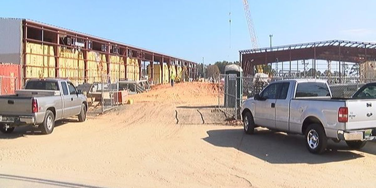 Jackson County jail construction catching up to schedule