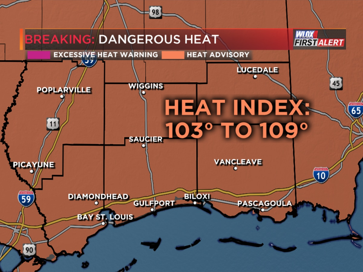 Dangerous heat for the first day of summer