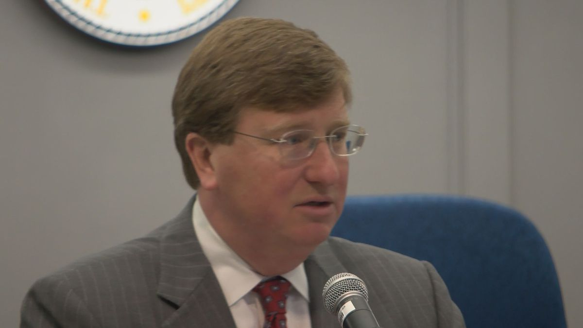 Gov. Reeves visits Gautier to discuss GOMESA funding