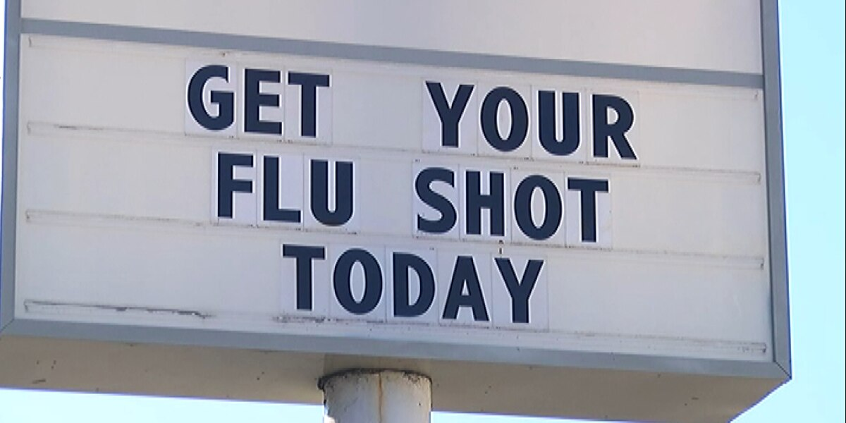 It's peak flu season and officials say get your vaccine