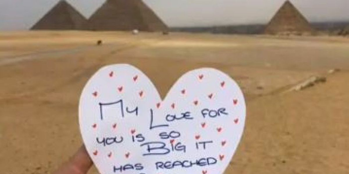 Biloxi woman uses social media to shout her message of love