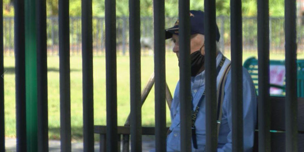 AFRH still on lockdown, but residents appreciate wall of protection