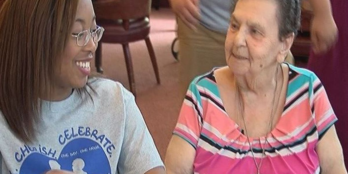 Hundreds of volunteers visit coast nursing homes for second annual Grandparent's Day event