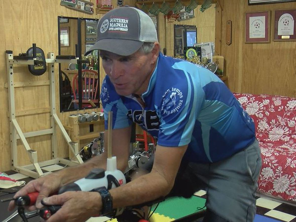 South Mississippi Strong: Eddie Holmes puts the pedals to the metal with Gulf Coast Bicycle Club
