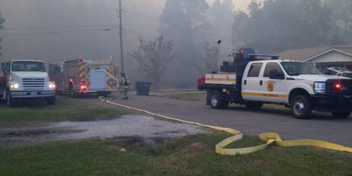 Officials: Jackson Co. wildfire contained, evacuated residents can return home