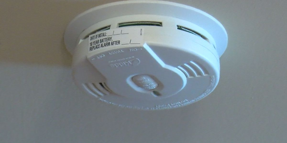 Mississippi giving away alarms to try to reduce fire deaths