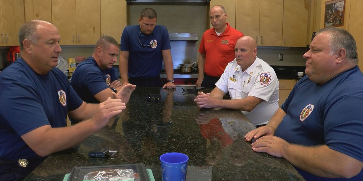 Katrina memories will always be fresh for these Biloxi firefighters