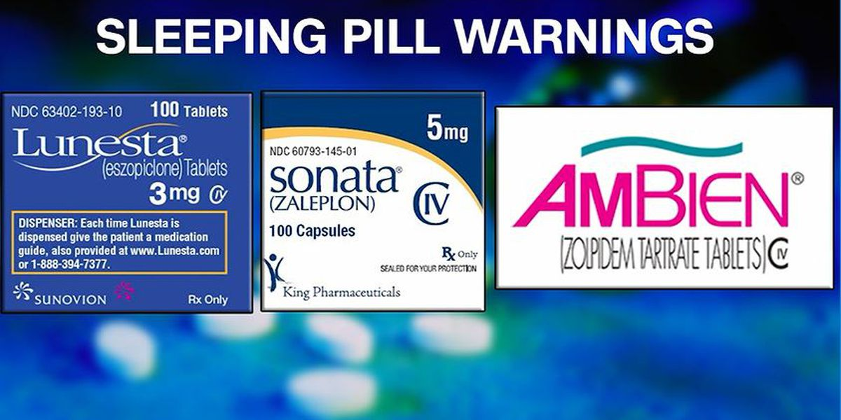Ambien, Other Sleep Aids Get FDA's 'Black Box' Label, Its Strongest Warning