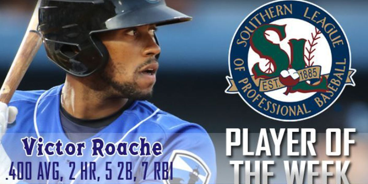 Another Biloxi Shucker claims Southern League Player of the Week honors